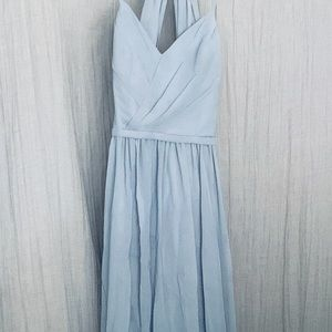 Blue Grey Formal dress